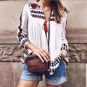🌺CHIFFON, TOP, BLOUSE, COVER UP, SHIRT HIPPIE